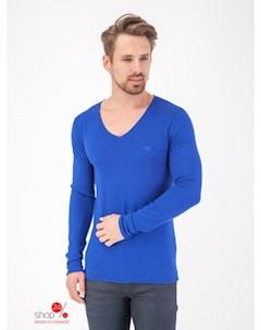Пуловер цвет ярко синий Lee cooper