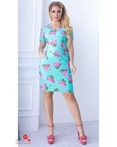 Платье цвет мятный Lilova