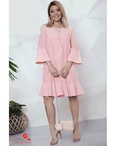 Платье цвет бледно розовый Felix
