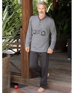 Пижама Gregory цвет серый принт klingel