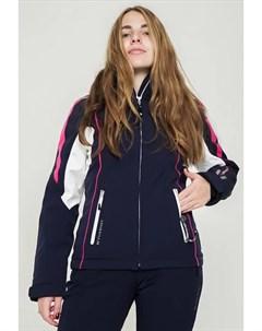 Куртка горнолыжная M L Satie Jacket Lady Sailnavy Br Whi 34 Vuarnet