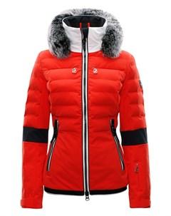 Куртка горнолыжная 17 18 Melissa Fur Fire Orange 36 Toni sailer