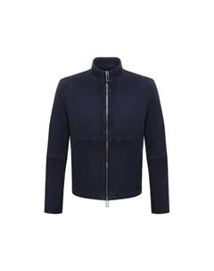 Замшевая куртка Emporio armani