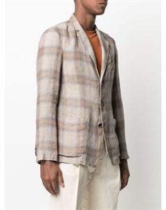 Клетчатый пиджак Barena