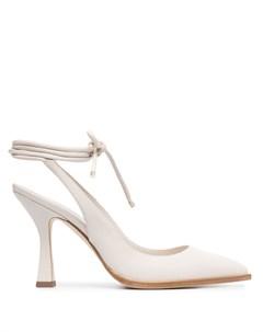 Туфли с заостренным носком и шнуровкой Grey mer