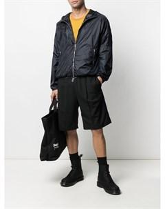Легкая куртка с тисненым логотипом Emporio armani