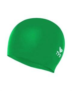 Шапочка для плавания Latex Swim Cap латекс LCL 322 зеленый Tyr