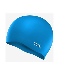 Шапочка для плавания Wrinkle Free Silicone Cap силикон LCS 420 голубой Tyr