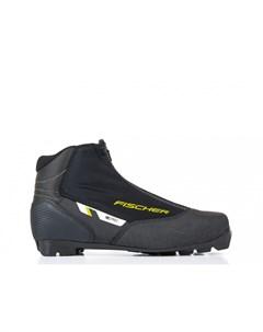 Лыжные ботинки XC Pro Black Yellow S21820 черно желтый Fischer