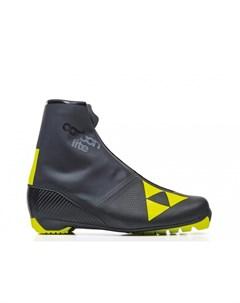 Лыжные ботинки Carbonlite Classic S10520 черно желтый Fischer