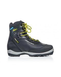 Лыжные ботинки NNN BCX 5 waterproof S38518 черный желтый Fischer