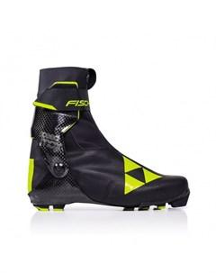 Лыжные ботинки NNN Speedmax Skate S01019 черно желтый Fischer