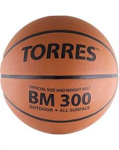 Баскетбольный мяч р 7 BM300 B00017 Torres