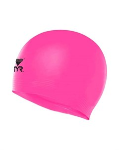 Шапочка для плавания Wrinkle Free Junior Silicone Cap силикон LCSJR 693 розовый Tyr