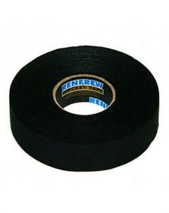 Лента для клюшек Cloth Tape Черная 24мм x50м Renfrew