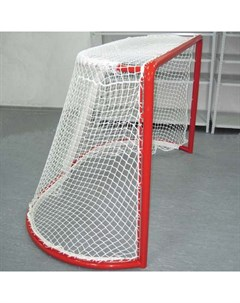 Сетка для хоккейных ворот 2 2 мм 1 25х1 85х 0 70х1 30 м цвет белый 060122 пара Nobrand