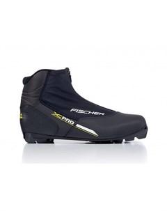 Лыжные ботинки NNN XC PRO S21817 Black yellow Fischer