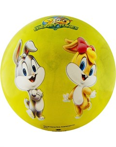 Мяч детский Looney Tunes WB LT 001 диам 23 см салатовый Palmon
