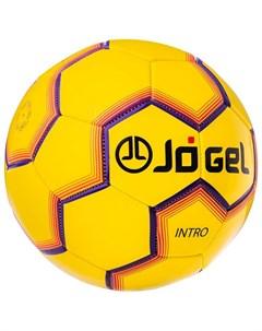 Мяч футбольный JS 100 Intro 5 желтый J?gel