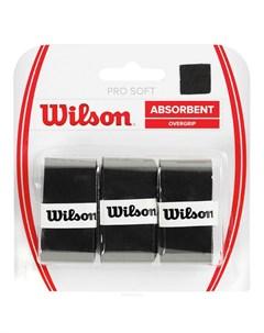 Овергрип Pro Soft Overgrip WRZ4040BK черный Wilson