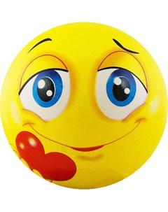 Мяч детский Funny Faces DS PP 207 D 12 см желтый Palmon