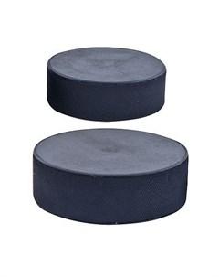 Шайба хоккейная оф стандарт MR XS75 черная Nobrand