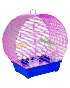 Клетка для птиц 416 34 5х28х49 5 см в ассортименте Kredo