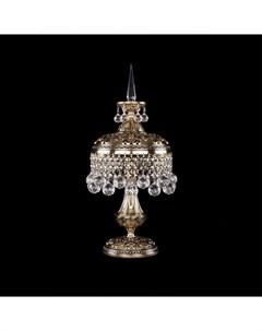Лампа настольная 7002 20 47 золото черненое Crystal bohemia