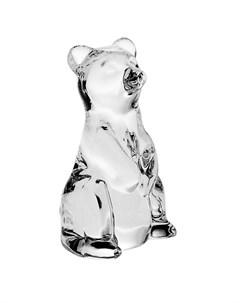 Фигурка Медведь 6 8 см Crystal bohemia