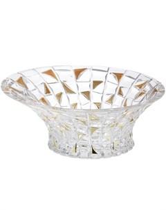 Салатник Patriot Gold 33 см Crystal bohemia