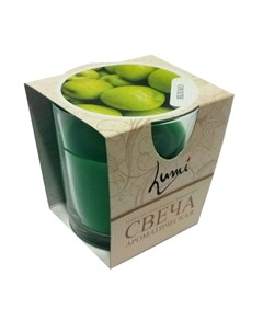 Свеча ароматическая Яблоко Lumi