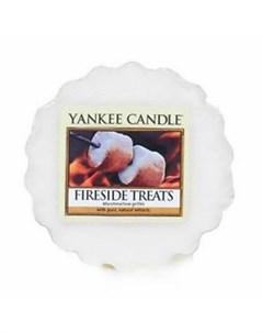 Аромасвеча тарталетка Лак ва у камина 1254094E Yankee candle