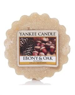 Ароматическая свеча тарталетка Смола и дуб 22 г Yankee candle