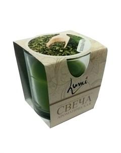 Свеча ароматическая Зеленый чай Lumi