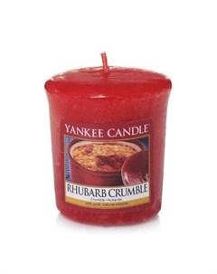 Ароматическая свеча пробная Ревеневый пирог 1519664E Yankee candle