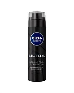 Гель для бритья Черный ultra 200 мл Nivea