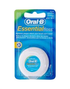 Зубная нить Essential Мятная 50 м Oral-b