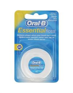 Зубная нить Essential floss невощеная 50 м Oral-b