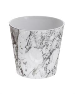 Кашпо dallas marble d19 мраморный Soendgen