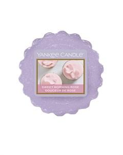 Тарталетка Утренняя роза 6 см Yankee candle