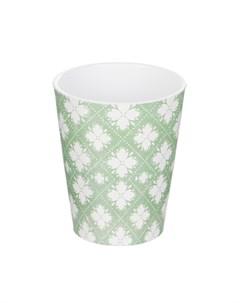 Кашпо для орхидей medina d15 зелено белое Soendgen