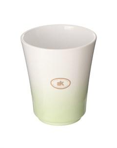 Кашпо для орхидей atlanta d13 зелено белое Soendgen
