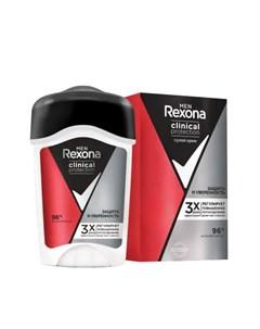Антиперспирант крем Men Clinical Protection Защита и Уверенность 45 мл Rexona