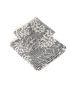 Набор полотенец omega 40х60 60х100 antracite Cogal