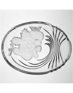 Салатник Фрукты 22 5 см Crystal bohemia