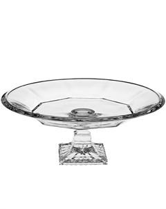 Тарелка Victoria 33 см Crystal bohemia