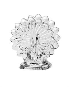 Салфетник Павлин 14 5 см Crystal bohemia
