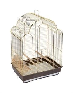 Клетка для птиц 9100G 42х30х56 см Триол