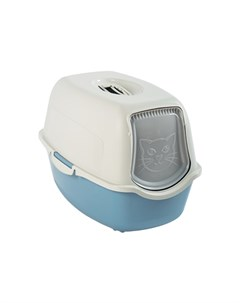 Туалет для кошек Bailey голубой 53х40х39 см Rotho