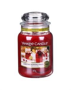 Ароматическая свеча большая Рождественский пунш 623 г Yankee candle